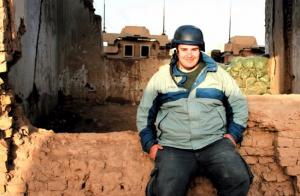 Antonio Pampliega, um dos três jornalistas espanhóis que se acredita ter sido raptado na Síria em 2015. Pampliega, José Manuel López e Ángel Sastre ainda estão desaparecidos