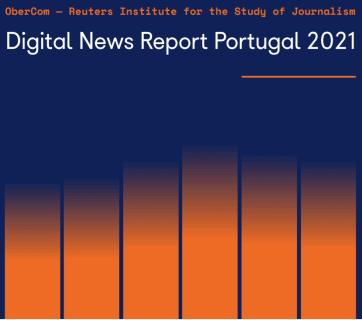Capa do Digital News Report Portugal