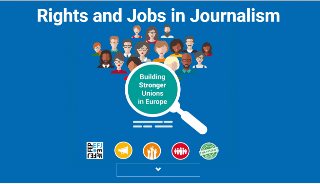 "O manual ""Rights and Jobs in Journalism – Building stronger unions"", resulta do projeto homónimo que teve início há dois anos"