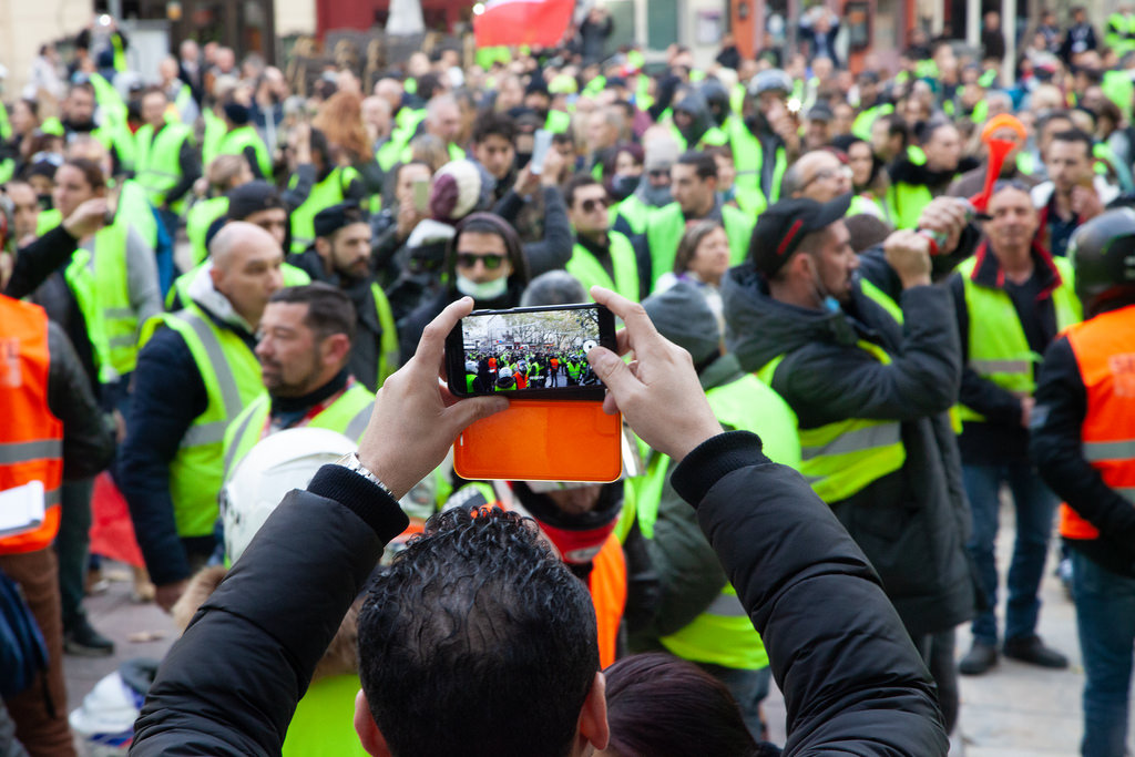 Gillets jaunes France
