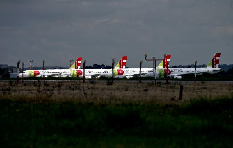 Greve/TAP: Empresa mantém tendência de 70% de voos para hoje