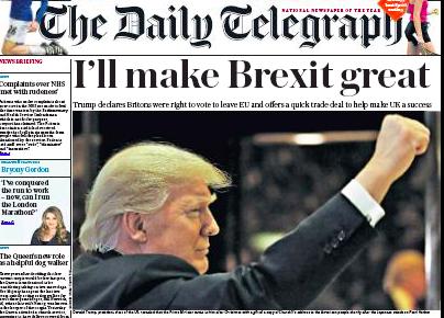 Daily Telegraph: é tempo para a 'realpolitick'